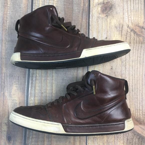 Perca Sin lugar a dudas Contribuyente  Nike Shoes | Nike Air Royal Mid Vt Baroque Brown Leather | Poshmark